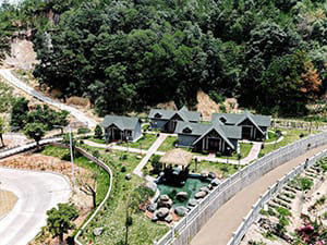 DOVE China Project villas for guests