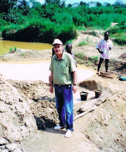 DOVE mining projects Sierra Leone 2004 Kano